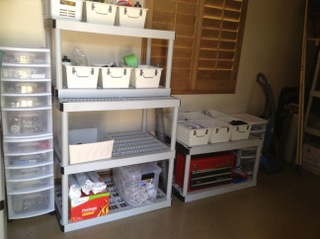 Storage Room Organization: After