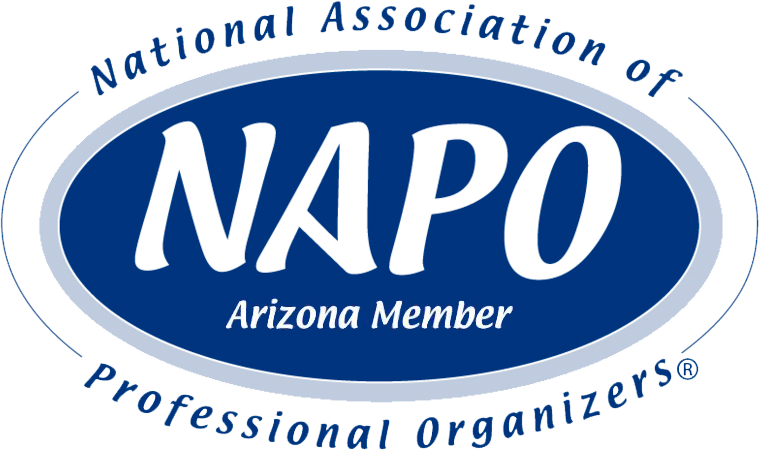 Member of the National Association of Professional Organizers (NAPO): Arizona Chapter